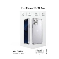 "CASESTUDI iPhone 12/12 Pro 6.1"" Explorer Hybrid Guard - Clear 4897071257800"