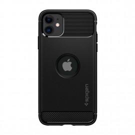 Spigen iPhone 11 Rugged Armor Matte Black 8809671010286