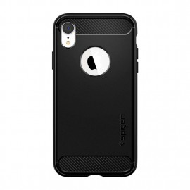 Spigen iPhone XR Rugged Armor Black 8809613763928