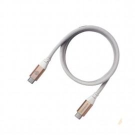 Grenoplus USB-C to C 3.1 Gen 2 Cable (ThunderBolt) 1m – Gold 6971196340857