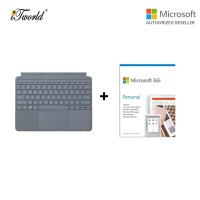 Microsoft Surface Go Signature Type Cover Ice Blue KCS-00119 + 365 Personal (ESD)