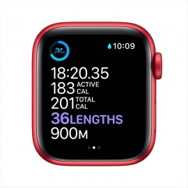 Apple Watch Series 6 GPS, 40mm PRODUCT(RED) Aluminium Case with PRODUCT(RED) Sport Band