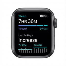 [Back Order] Apple Watch SE GPS, 40mm Space Gray Aluminium Case with Black Sport Band
