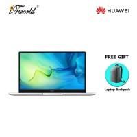 Huawei Matebook D15 (11th Gen i5, 8GB, 512GB, 2021 model) FREE Huawei CD60 Matebook Series Laptop Backpack Grey + 365 Personal (While Stock Last)