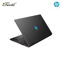 "NEW HP Omen Gaming Laptop 15-ek0109TX 15.6"" FHD (i5-10300H, 512GB SSD+32GB Optane, 8GB, NVIDIA GTX 1650 Ti 4GB, W10H) - Black [FREE] HP Omen Backpack (Grab/Touch & Go credit redemption : 1/5-31/7*)"