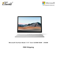"Microsoft Surface Book 3 13"" Core i5/8GB RAM - 256GB - V6F-00017"