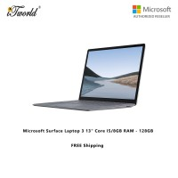 "Microsoft Surface Laptop 3 13"" Core i5/8GB RAM - 128GB Platinum - VGY-00016"