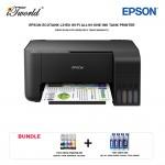 Epson EcoTank L3150 Wi-Fi All in-One Ink Tank Printer *Bundle 1 set CMYK ink