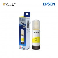 Epson Yellow Ink Bottle  C13T00V400 - Compatible with Eco Tank L1110, L3110, L3116, L3150, L3156, L5190