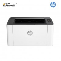 HP Mono Wired Laser 107a Printer (Print only) (4ZB77A) [*FREE Redemption RM30 Touch 'n Go ewallet credit]