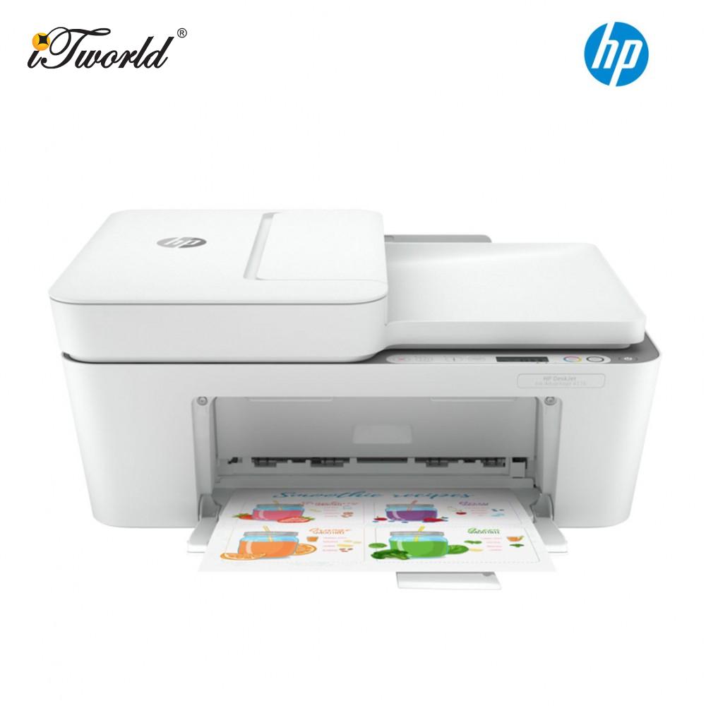 HP DeskJet Plus Ink Advantage 4176 All-in-One Printer (Print/Scan/Copy/Wireless/Send Mobile Fax/682 ink) (7FS95B)