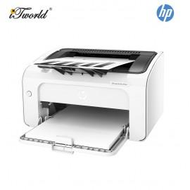 HP LaserJet Pro M12a Laser Printer (T0L45A) - White [*FREE Redemption RM50 Touch 'n Go ewallet credit]