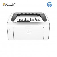 HP Mono Wireless LaserJet Pro M12w Laser Printer (Print only) (T0L46A) - White