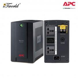 APC Back-UPS 800VA, 230V, AVR, Universal and IEC Sockets BX800LI-MS - Black