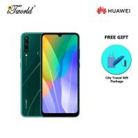 Huawei Y6P 4GB+64GB Emerald Green [FREE Huawei City Travel Gift Package (Pkg Promo) HWP0052]