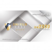 Shield Care Plus 1 Year Extended Warranty (Coverage up to RM2,000) -  Silver